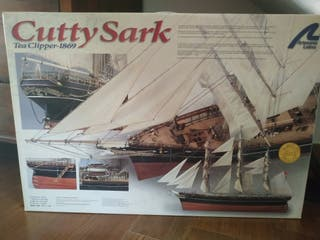 Maqueta barco Cutty Sark Tea Clipper