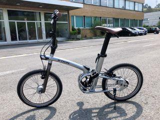 Bicicleta plegable. Btwin Tilt 9. El tope de gama.