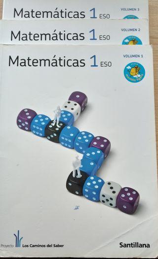 Libro de texto de Matematicas de 1° ESO