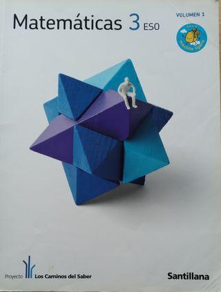 Libro de texto Matematicas 3° ESO
