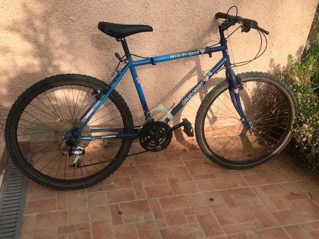 Bicicleta montaña MTB