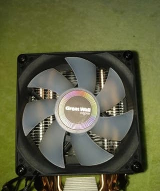 CPU disipador enfriador RGB 3D Dual para Intel