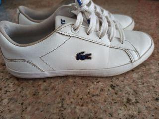Zapatillas niño Lacoste
