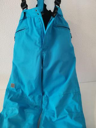 Pantalón esquiar talla 12