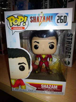 Shazam Funko Pop