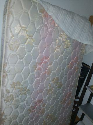 somier y colchón 180x120