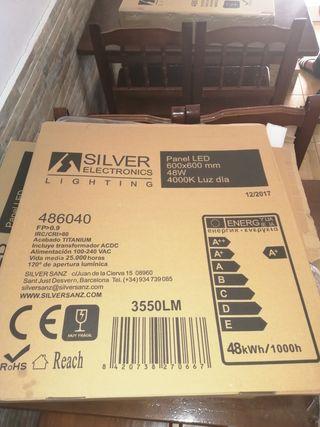 Panel LED 48W 4000k 600x600mm