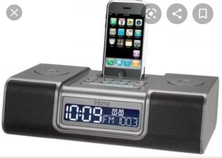 Ihome antiguo ipod iphone radio despertador