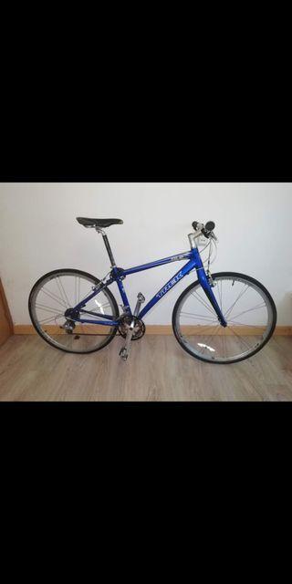 bicicleta trek rígida