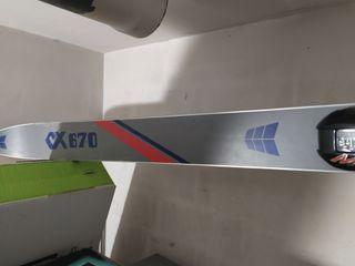 Esquí ALPINO CX 670 con fijaciones y botas