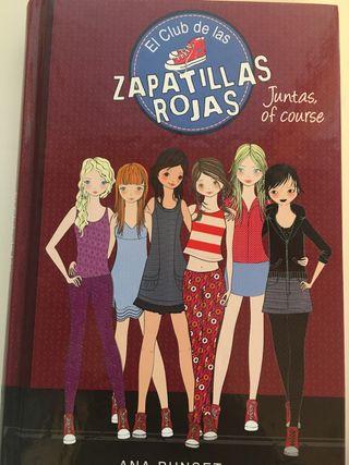 """Libro """"El club de las zapatillas rojas"""""""