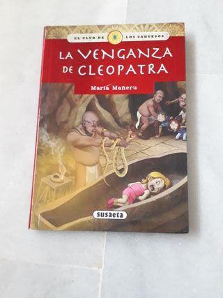 libro: La venganza de cleopatra