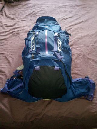 Mochila de montaña Quechua Symbium 50+10