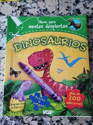 Libro infantil Dinosaurios Vox