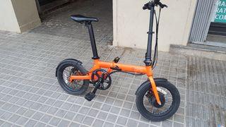 bicicleta electrica plegable funbike Oops
