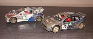 2 coches scalextric(juntos o separados)