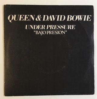 QUEEN & DAVID BOWIE Under Pressure Disco Vinilo