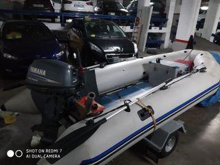 barca embarcación neumatica