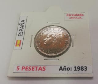 Moneda 5 Pesetas (Año 1983)