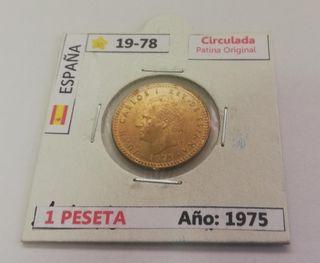 1 Peseta (Año 1975) 78*