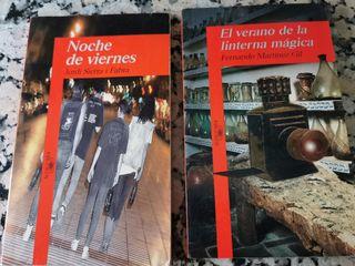 2 Libros juveniles Alfaguara