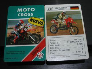 BARAJA DE CARTAS-FOURNIER (MOTO CROSS)