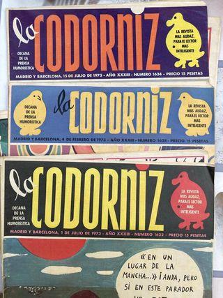 REBAJADO Lote Revista La Codorniz