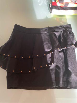 Falda mexton talla 38 negra