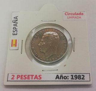 Moneda 2 Pesetas (Año 1982)