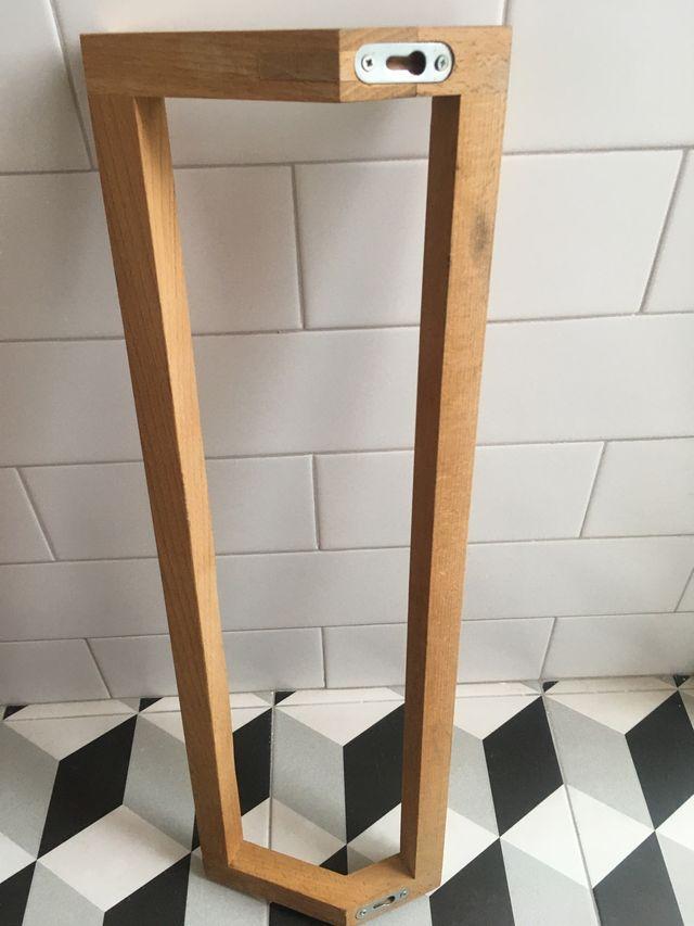 Toallero + porta rollo