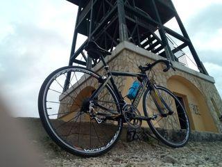 cambio bicicleta de carretera por btt