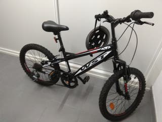 bici niño de 6-9 años . 20'' WST-Deportica