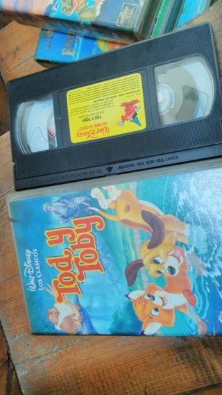 Cintas video VHS peliculas DISNEY - Varios títulos