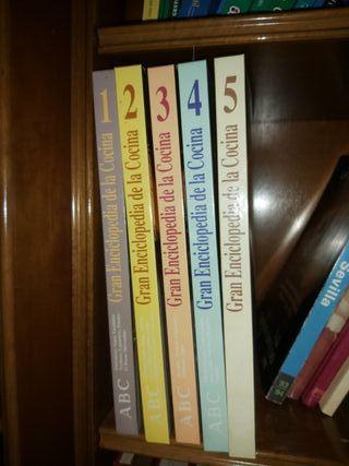 Colección de libros de cocina