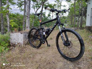 Bicicleta MTB doble suspensión
