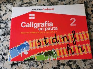 Caligrafía en pauta 2 de Santillana