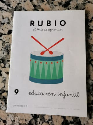 Cuadernillo Rubio infantil 9