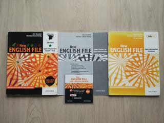 Libros Inglés New English File Upper-intermediate