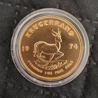 1 onza de oro Krugerrand