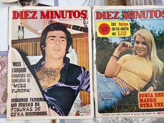 REBAJADO Lote revista 10 minutos 1971 al 1976