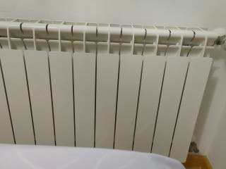 radiador de pared de gas