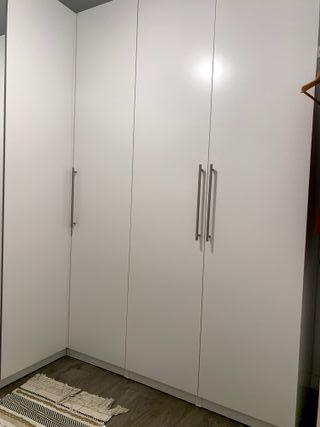 Armario vestidor esquinero IKEA PAX