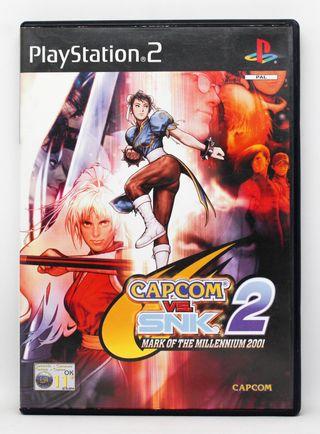 Capcom VS SNK 2 PlayStation 2 PAL España