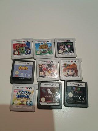 juegos de la nintendo 3 ds