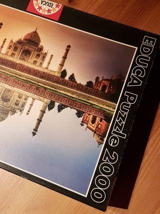 Puzzle EDUCA - Taj Mahal (India)