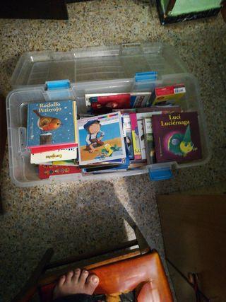 lote de libros infantil