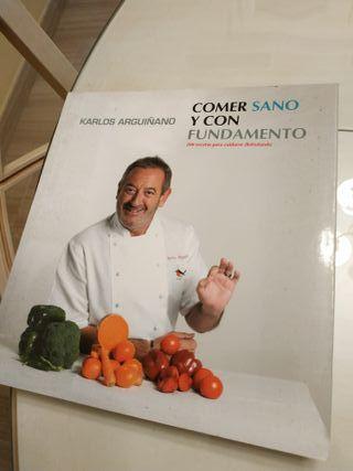 libro de cocina de Arguiñano