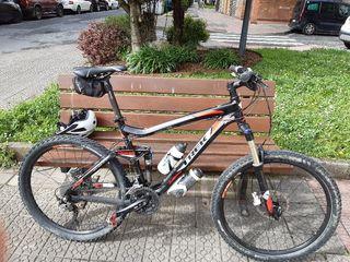 bici trek full x6 año 2012