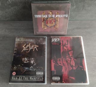SLAYER 3CD+3DVD