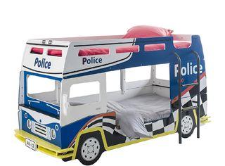 litera autobús policia